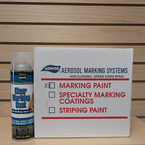 Aervoe Clear Marking Paint (case of 12) 1