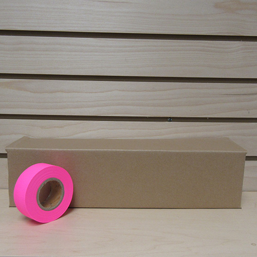 Presco Pink Glo Flagging Tape (case) 1