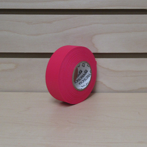 Presco Red Glo Flagging Tape (single) 1