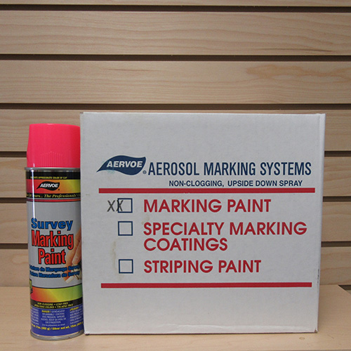Aervoe Fluorescent Pink Marking Paint (case of 12) 1